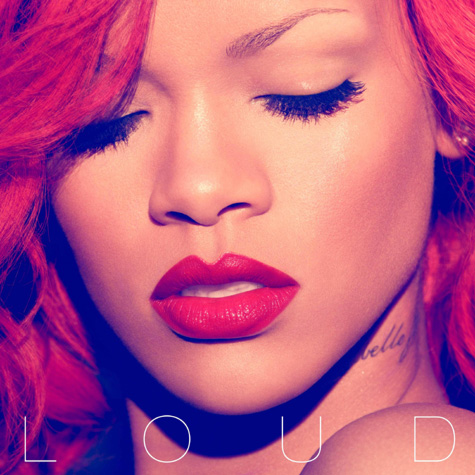 rihanna loud cover. Nicki Minaj on a track