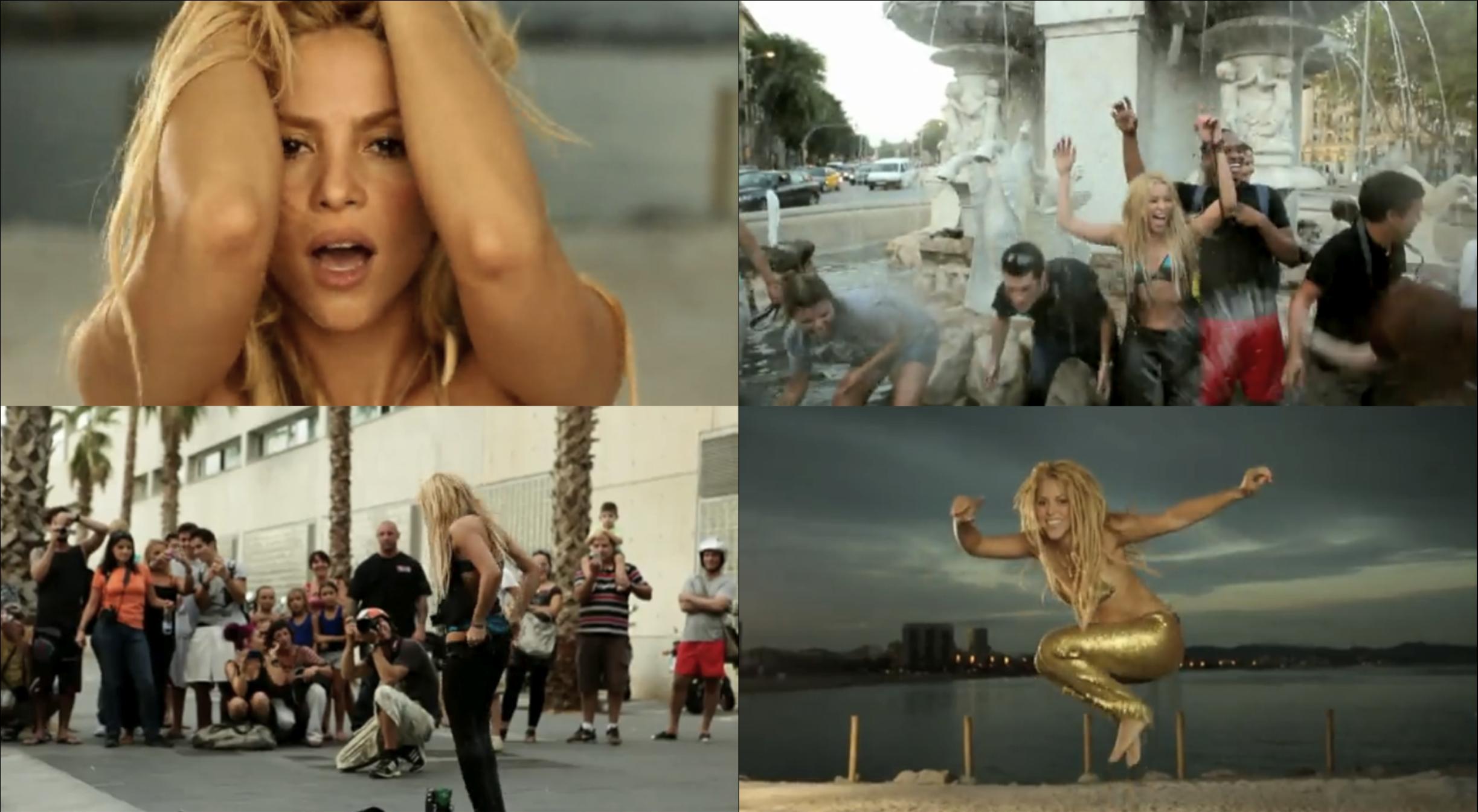 shakira loca cover. Shakira #39;Loca#39; Music Video