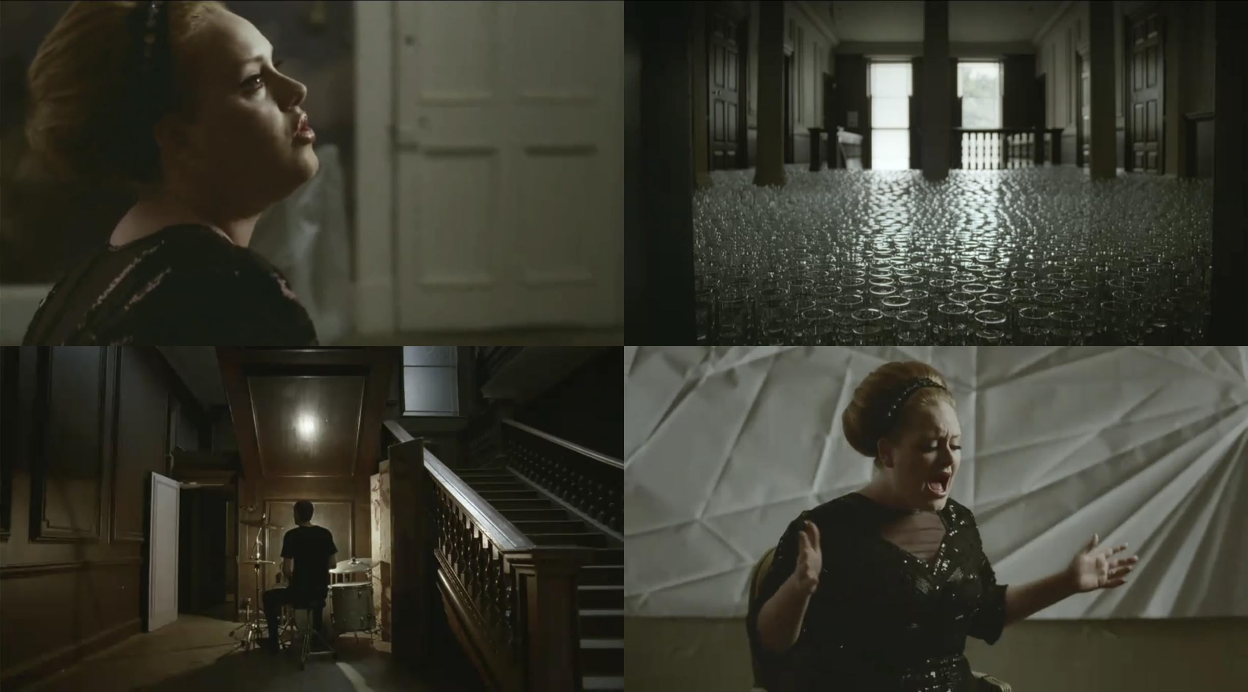 Adele rolling in the deep favorite songs music videos deep time