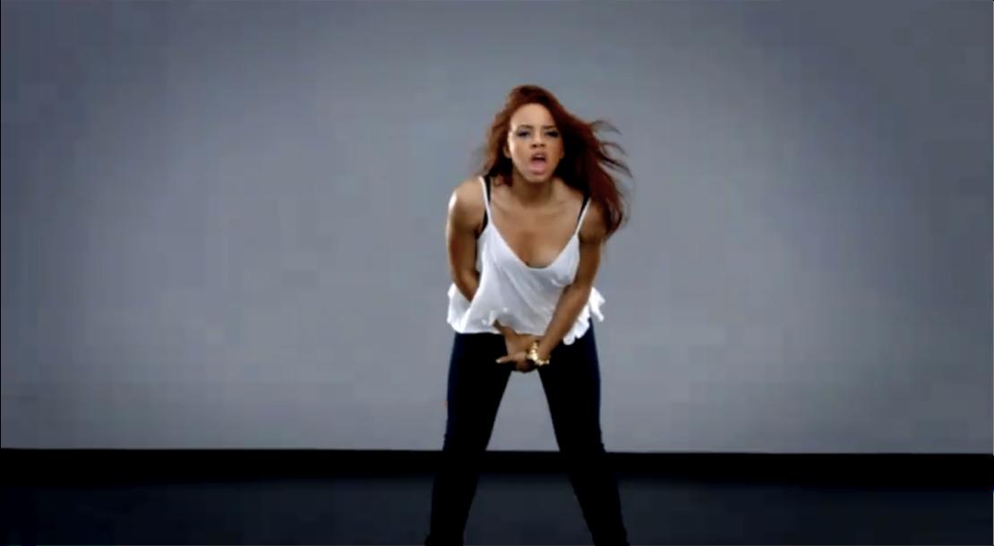 Alexis Jordan Crotch Grab