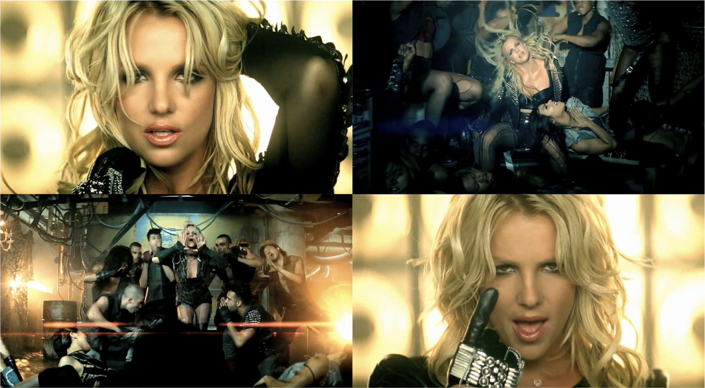 Britney Spears 'Till The World Ends' Music Video