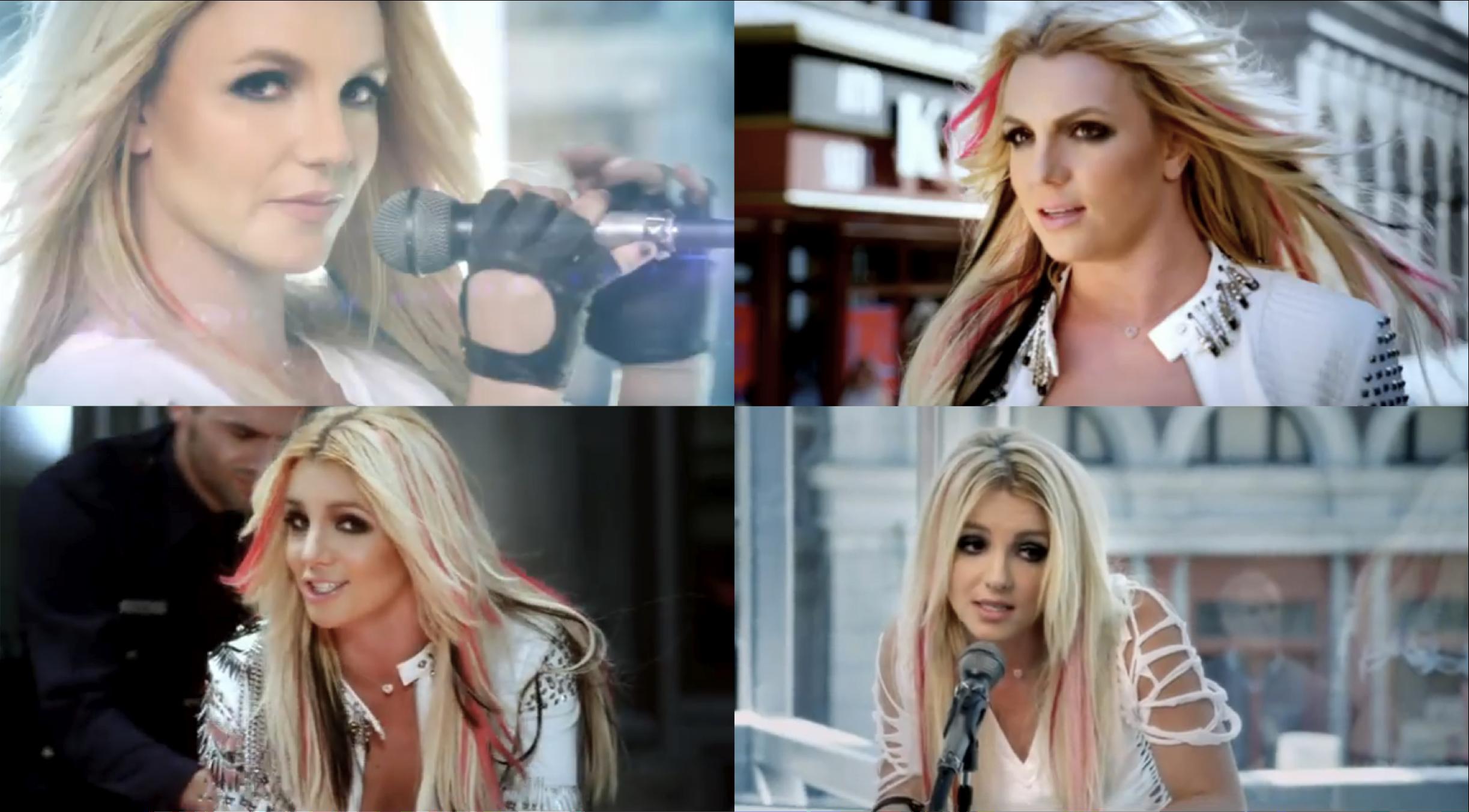 Britney Spears I Wanna Go Music Video Feed Limmy