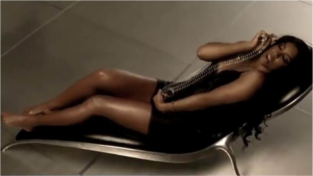 Check out three visual highlights from Kelly Rowland's'Lay It On Me' video