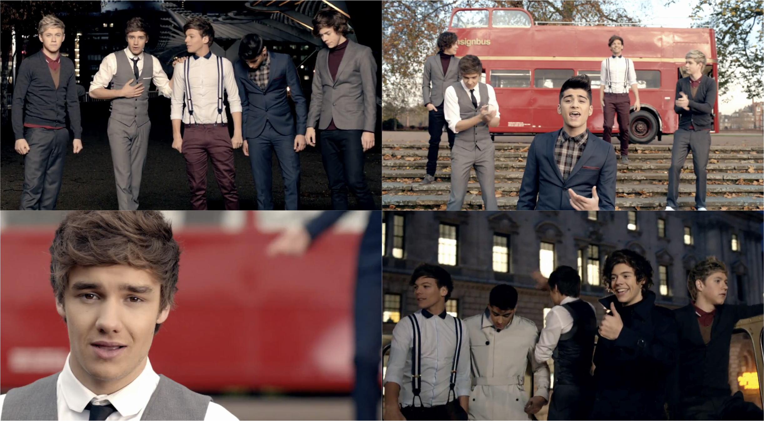 Louis Got That One Thing One Direction One Thing Music Video