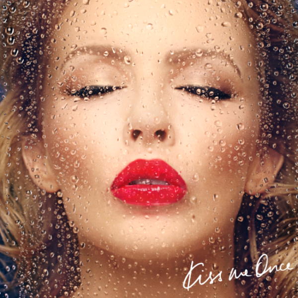 Kylie Minogue Kiss Me Once album cover